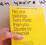 Miranda July book